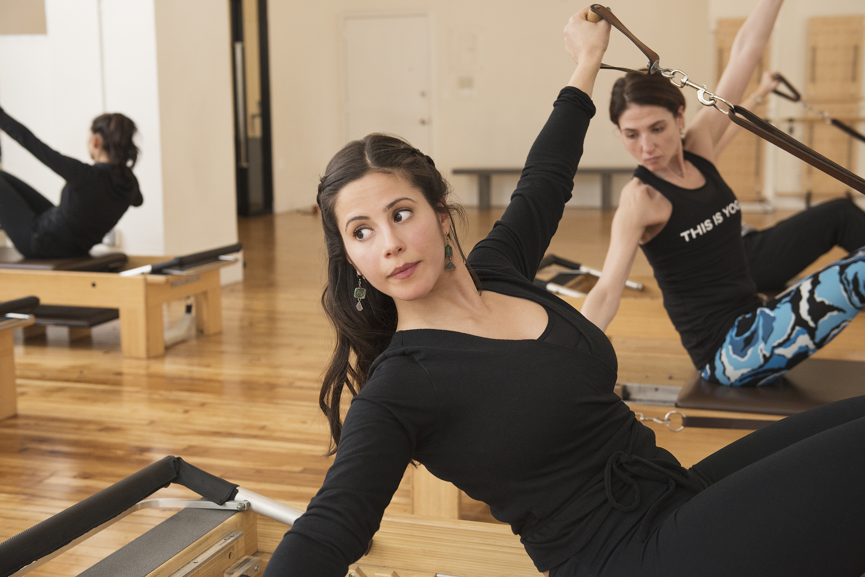 Core Pilates NYC's classes include The Pilates Workout or Trio session.