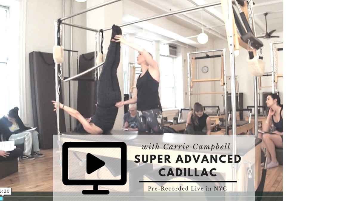 Pilates Workshop Super Advanced Cadillac