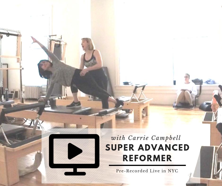 Pilates Super Advanced Reformer Workshop