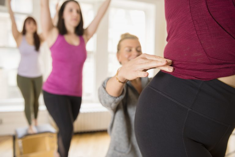 Core Pilates NYC studio offers apparatus classes including Reformer and Chair classes.